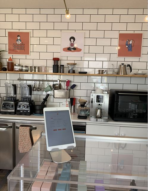 cbd coffeeの店内画像